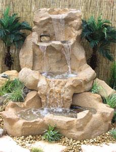 Las fuentes en el dise o del jard n cuidado de plantas for Fuentes decorativas de jardin