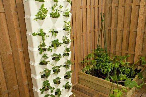 Macetas cuidado de plantas - Maceteros colgantes para balcones ...